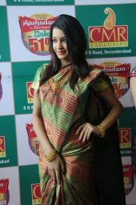 Hyderabad Model Diksha Panth at CMR 2012 Ashadam Offers Launch Stills