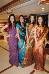 Models at CMR 2012 Ashadam Offers Launch Stills