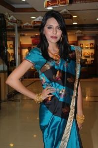 Hyderabad Model Kushboo at CMR 2012 Ashadam Offers Launch Stills