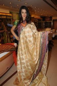 Beautiful Hyderabad Model Diksha Panth at CMR Ashadam Offers Launch
