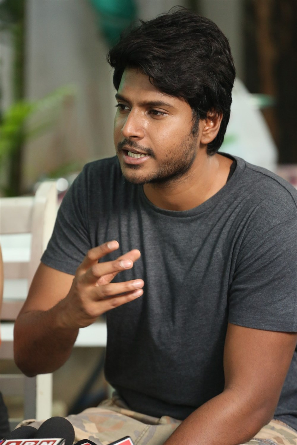 Actor Sundeep Kishan @ C/O Surya Movie Press Meet Images