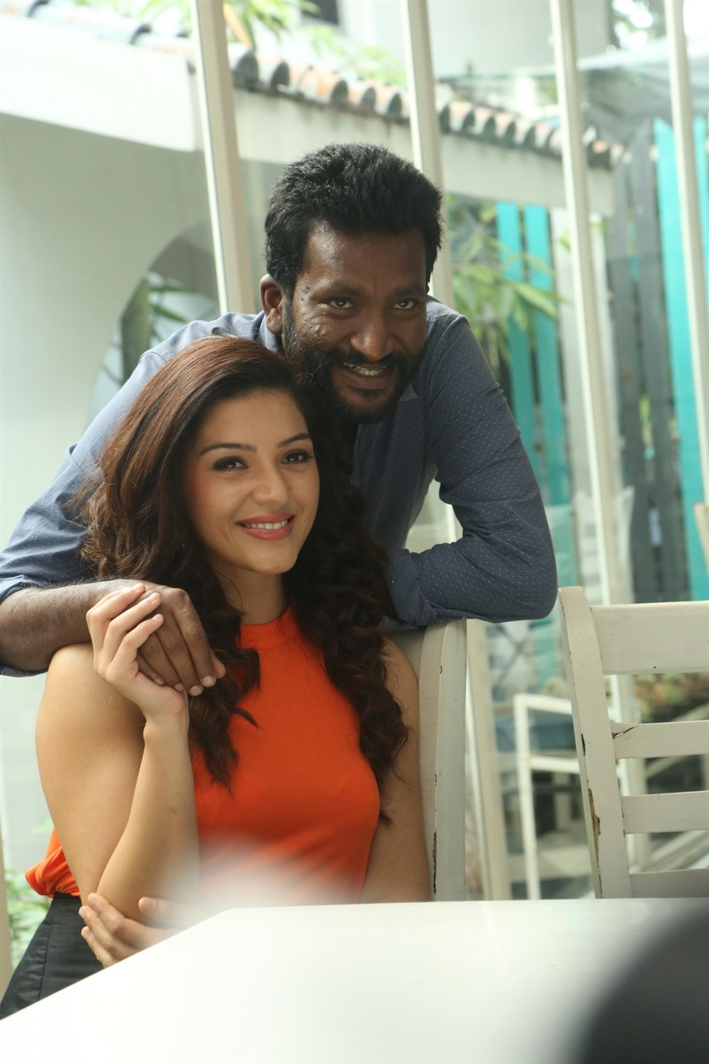 Mehreen Pirzada, Suseenthiran @ C/O Surya Movie Press Meet Images