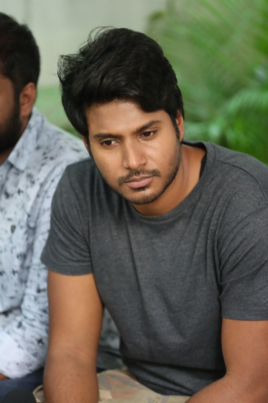 Actor Sundeep Kishan @ C/O Surya Movie Press Meet Images