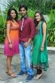Yashika, Aneesh Thejeswar, Kumudha at Coffee With My Wife Movie Launch Gallery