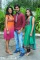 Aneesh Thejeswar, Sindhu Lokanath, Kumudha at Coffee With My Wife Movie Launch Stills
