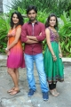 Aneesh Thejeswar, Sindhu Lokanath, Kumudha at Coffee With My Wife Movie Opening Stills