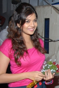 Actress Colors Swathi Latest Hot Photos in Pink Dress