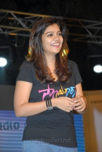Colors Swathi in Black Dress Photos at Swamy Ra Rao Audio Launch