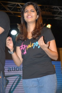 Colors Swathi in Black Dress Photos at Swamy Ra Ra Audio Release
