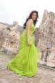 Telugu Actress Colours Swathi in Green Saree Photos