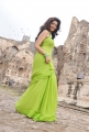 Colours Swathi in Green Saree Photos