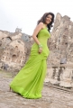 Swathi Latest Hot Photos in Green Saree