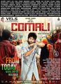 Jayam Ravi in Comali Movie Release Today Posters