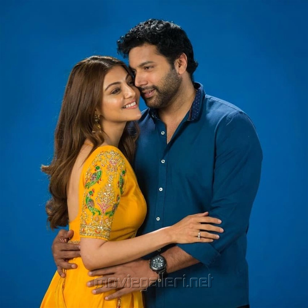 Kajal, Jayam Ravi in Comali Movie Stills HD