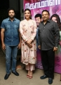 Jayam Ravi, Kajal, Ishari Ganesh @ Comali Press Meet Stills