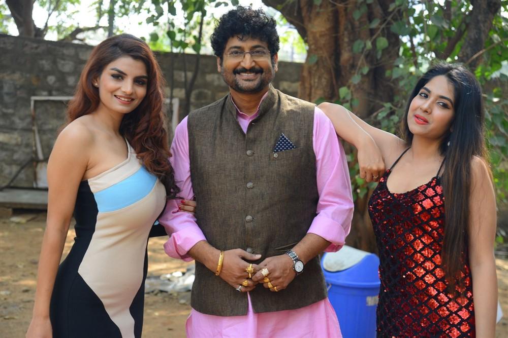 Commitment Telugu Movie Title Launch Stills