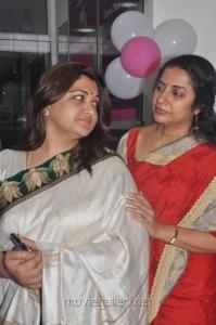 Kushboo, Suhasini at Craft Fertility Centre Inauguration Stills