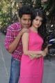 Harish Kalyan, Meenkkshi at Crazy Hearts Movie Opening Stills
