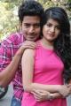 Harish Kalyan, Meenkkshi at Crazy Hearts Telugu Movie Opening Photos