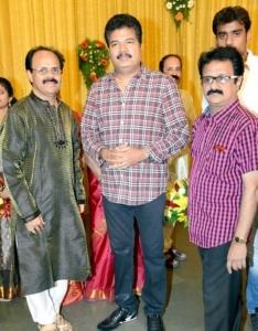 Shankar, Maadhu @ Crazy Mohan Son Wedding Reception Photos