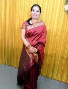 Mahanadhi Shobana @ Crazy Mohan Son Wedding Reception Photos