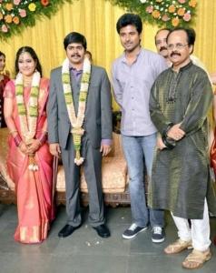 Sivakarthikeyan @ Crazy Mohan Son Wedding Reception Photos