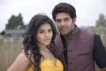 Anjali, Arya in Crazy Telugu Movie Stills