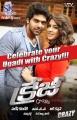 Arya, Hansika in Crazy Telugu Movie Posters