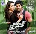 Hansika Motwani, Arya in Crazy Telugu Movie Wallpapers