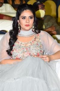 Actress Sreemukhi @ Crazy Uncles Movie Pre Release Event Stills