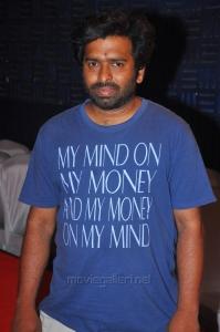 Music Director Santhosh Narayanan @ Cuckoo Movie Success Meet Stills