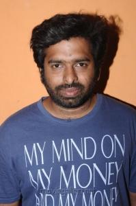 Santhosh Narayanan @ Cuckoo Movie Success Meet Stills