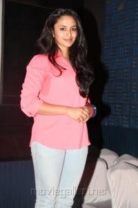 Actress Malavika Nair @ Cuckoo Movie Success Meet Stills