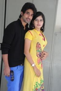 Sanjay, Madhumitha Valluri @ Cut Chesthe Audio Success Meet Stills