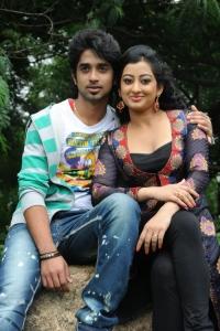 Abhijeet Duddala, Tejaswini at Cut Chesthe Movie Opening Photos