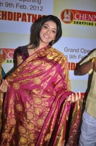 Cute Kajal Agarwal in Chennai Shopping Mall Launch