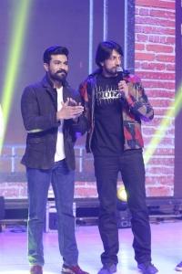 Ram Charan, Sudeep @ Dabangg 3 Movie Pre Release Event Stills