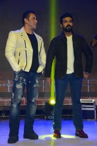 Salman Khan, Ram Charan @ Dabangg 3 Movie Pre Release Event Stills