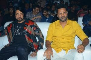 Sudeep, Prabhu Deva @ Dabangg 3 Movie Pre Release Event Stills