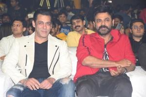 Salman Khan, Venkatesh @ Dabangg 3 Movie Pre Release Event Stills