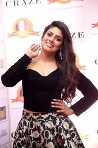 Actress Iniya @ Dadasaheb Phalke Awards South 2019 Red Carpet Photos
