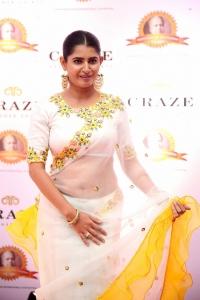 Actress Ashima Narwal @ Dadasaheb Phalke Awards South 2019 Red Carpet Photos
