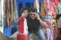Mammootty, Master Dhananjay in Daddy Cool Telugu Movie Stills