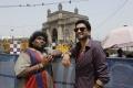 Yogi Babu, Santhanam in Dagaalty Movie Stills