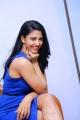 Husharu Actress Daksha Nagarkar Blue Dress Hot Images