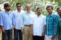 Suresh Babu at Dakshina Madya Railway Jattu Movie Launch Stills