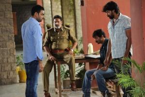 Abhimanyu Singh, Kishore, Naveen Chandra in Dalam Movie Photos