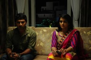 Vaibhav Reddy, Ramya Nambeesan in Damaal Dumeel Movie Stills