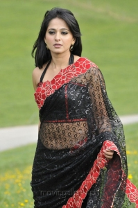 Damarukam Anushka Hot Saree Spicy Photos