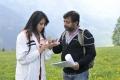 Anushka, Srinivasa Reddy at Damarukam Shooting Spot Stills